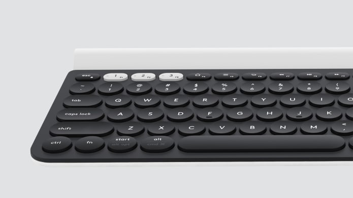 Keyboard with multi-device switch