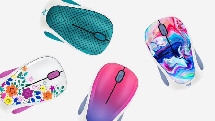 Design collection mouse with 4 colours
