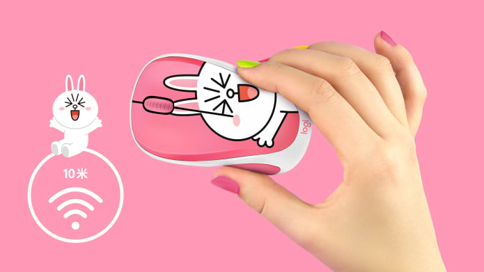 Cony Line Mouse in hand