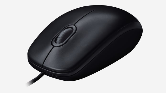 black usb mouse