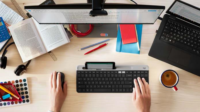 left hand mouse workspace setup