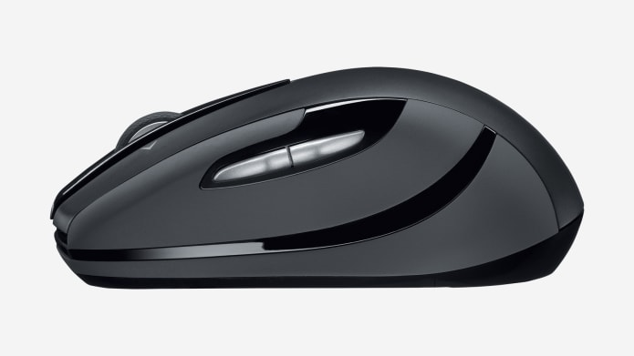 side view logitech m545 mouse