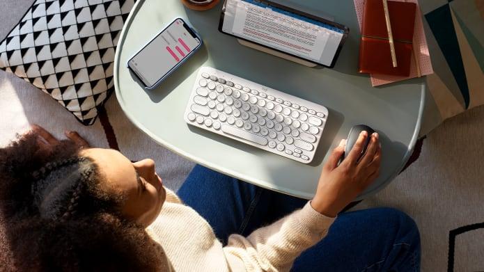適合鍵盤和滑鼠的精簡工作站環境