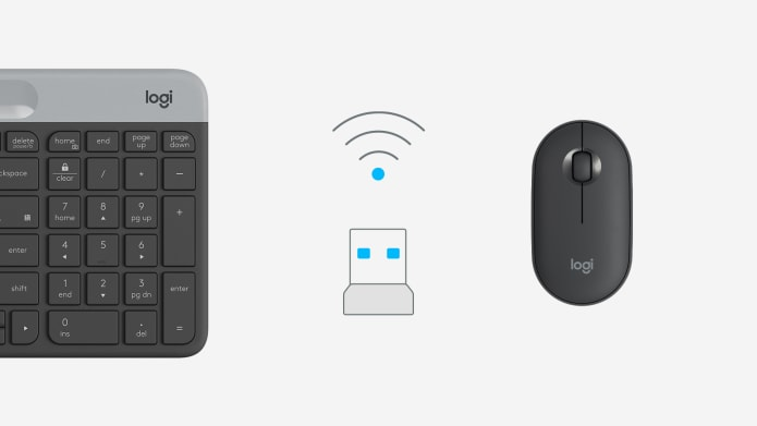 unifying receiver to connect logitech wireless keyboards and mice