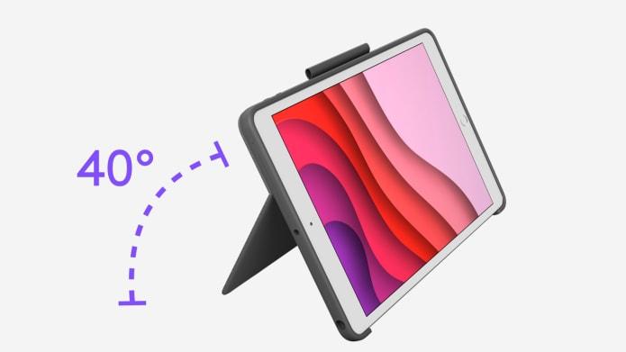 Combo Touch, 40 degrés de flexibilité