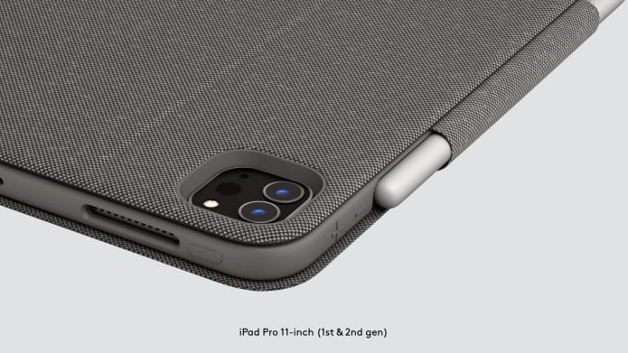 Folio Touch for iPad Pro's protected corner