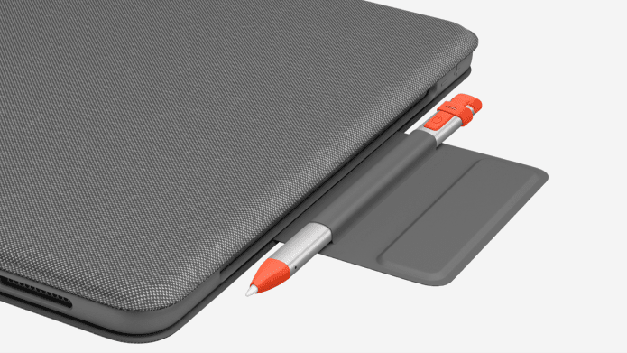 Folio Touch's pencil folder for Logitech Crayon