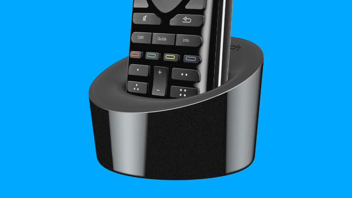 harmony remote in charging station