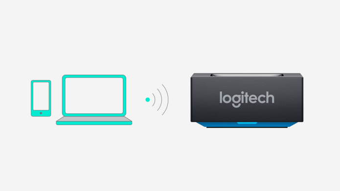 Bluetooth audio receiver connected to audio sources wirelessly