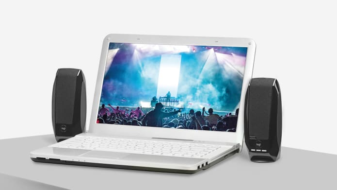 stereo speakers used for laptop