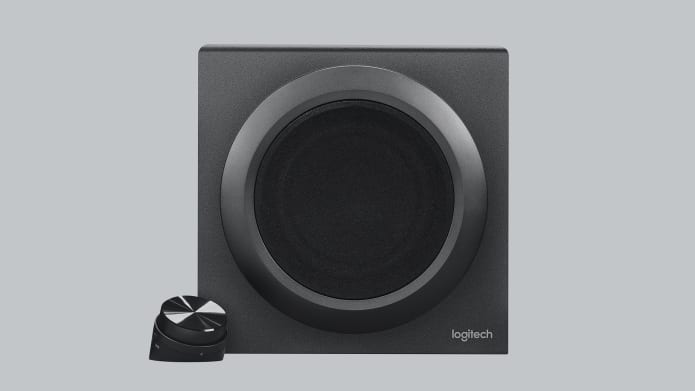subwoofer with control pod