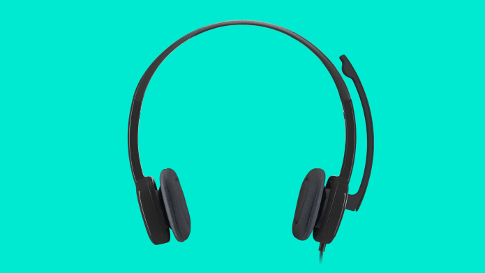 headset with stereo sound