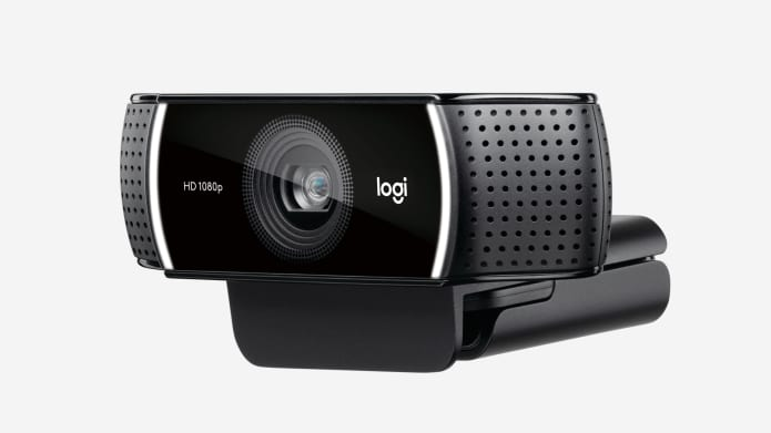 Webcam de streaming com taxa de quadros rápida