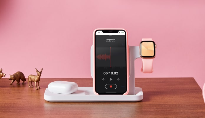 Streamlines your life charing; AirPods, iPhone, and Apple Watch