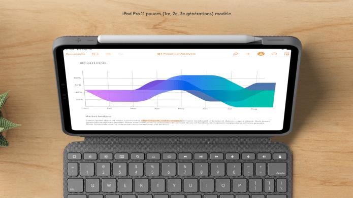 Support pour Apple Pencil du Combo Touch