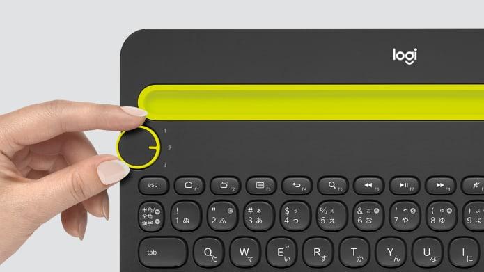 マルチデバイス対応ワイヤレス キーボード