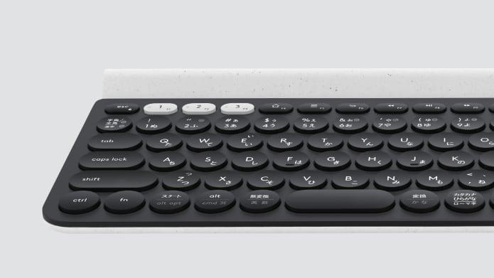マルチデバイス スイッチ搭載のキーボード