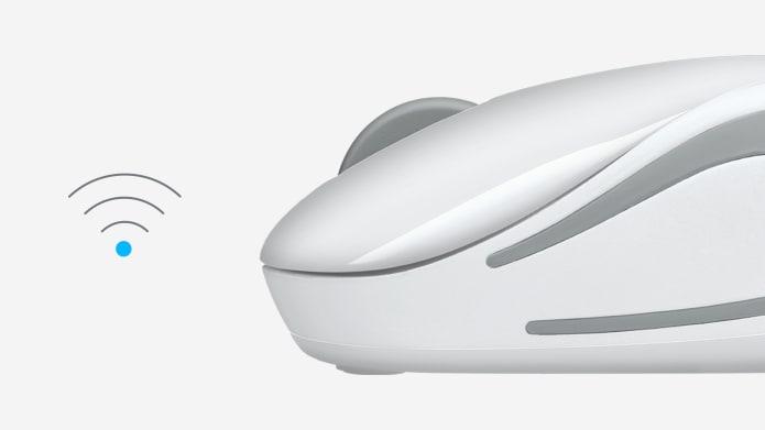 パソコンマウスとワイヤレス アイコン