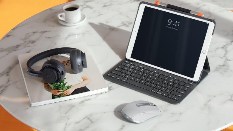 MX Anywhere 3 για mac με ipad