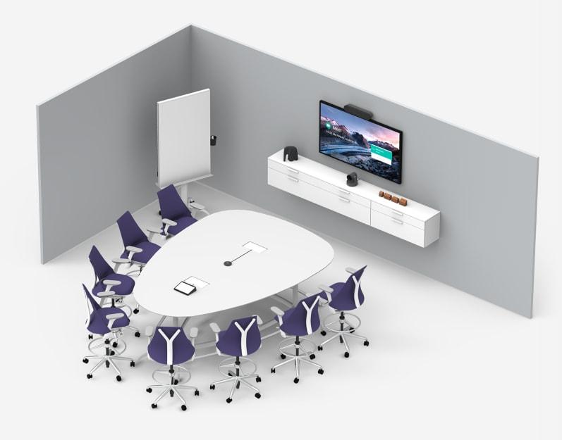 Middelgrote ruimte Google Meet