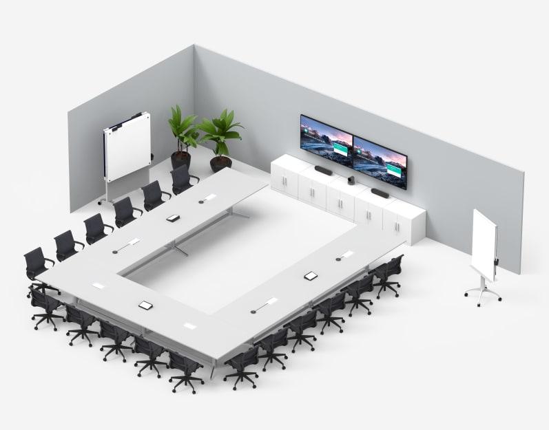 U 型會議室 Google Meet