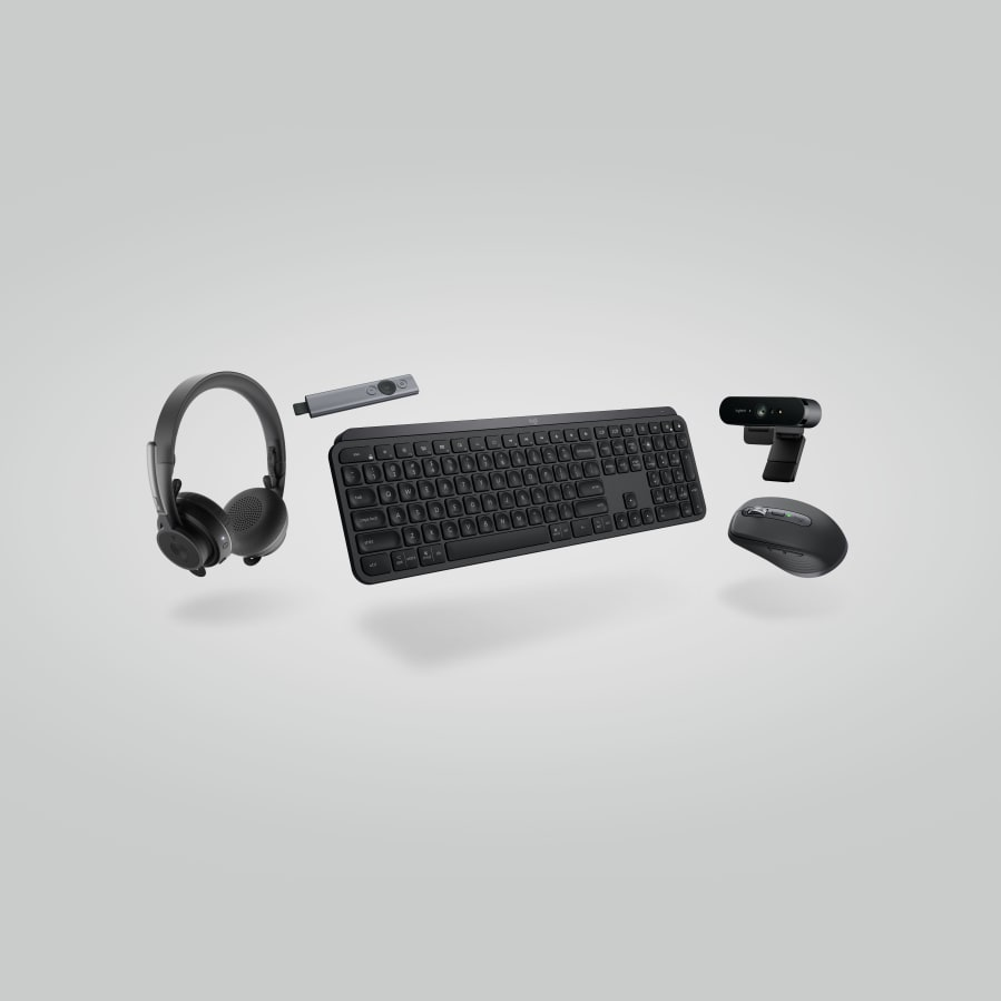 Collection Executive: ensemble clavier, souris, casque, webcam